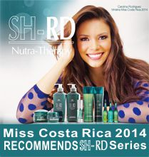 Miss Costa Rica2014 RECOMMENDS SH-RD Series